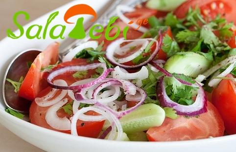 kitris da pamidvris salata