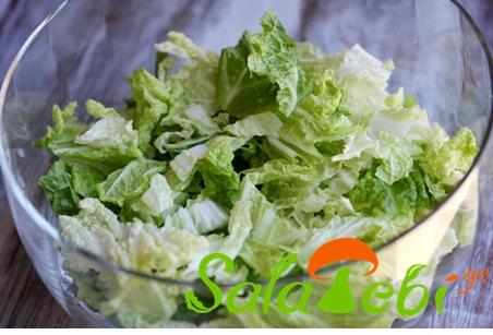 chinuri fotlebis salata