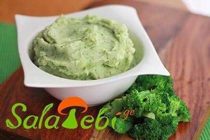 kartofilis piure brokolit