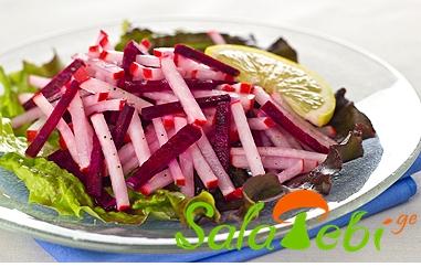 bolokis da charxlis salata