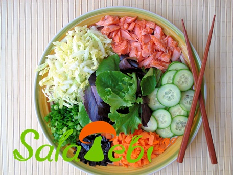 Wild-Salmon-Vegetable-Salad-Ingredients-0271