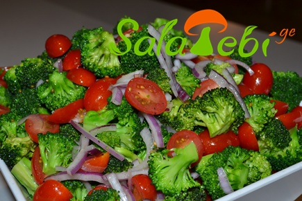 broklis salata