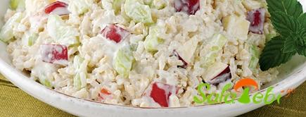 brinjis salata vashlit