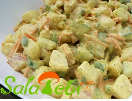 kartofilis salata kitrit
